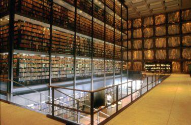 Biblioteca Beinecke de libros raros y manuscritos, New Haven.