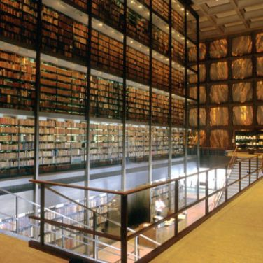 Biblioteca Beinecke de libros raros y manuscritos, New Haven.
