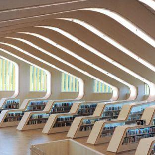 Biblioteca de Vennesla, Noruega.