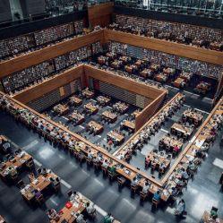 Biblioteca Nacional de China, Beijing, China.