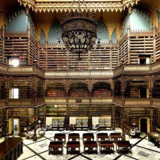 Biblioteca Real Gabinete Portugues De Leitura, Rio De Janeiro, Brasil.