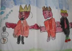 """Comenzamos el mes de Marzo, viviendo de los recuerdos... porque no os creáis que los niñ@s no se acuerdan de las cosas, su memoria es muy buena. Las Navidades siempre dejan una huella especial en ellos, reciben regalos, viven reuniones familiares especiales, y sobre todo, vuelven a ver a sus muy queridos amigos """"Sus Majestades los Reyes Magos"""" ó, el afable y entrañable, """"Papá Noel"""". En esta ocasión el dibujo, realizado en cera gruesa, y coloreado con acuarela fue dedicado a los primeros. Desde aquí les hago un huequecito y por qué no, durante unos minutos vivimos de los recuerdos. """"La buena memoria es principio de la sabiduría"""". Séneca. MARZO 2015"""