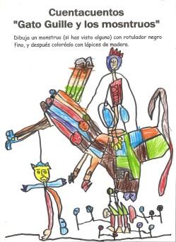 Si en Enero remarcábamos la ilusión y el amor con el que un niñ@ regala un dibujo a su profe, para este mes le reservo el puesto a la Imaginación, que aunque está siempre presente, en cualquier dibujo, no deja de sorprenderme, sobre todo cuando surge a raíz de un cuento... FEBRERO 2015