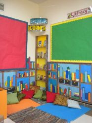 reading corner at school