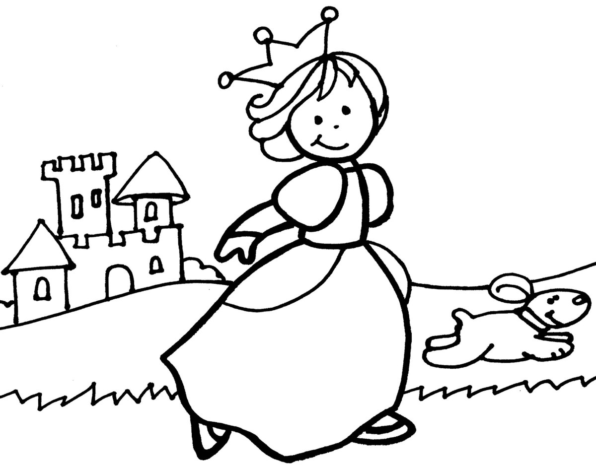 Dibujos De Principes Y Princesas Para Colorear: Mes Acabado… Proyecto Colgado: Príncipes Y Princesas.