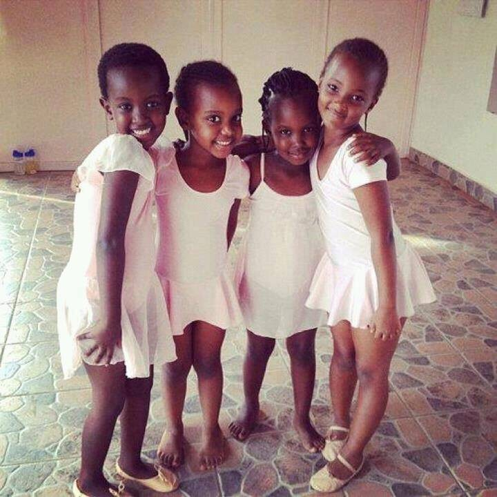 Niñas bailarinas