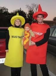 Ketchup, mostaza y perrito...ñam!