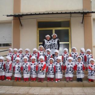 Decenas de pequeños Mozart