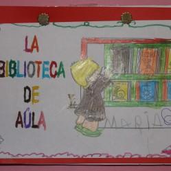 Portada individual-anual de dibujos de Bilioteca