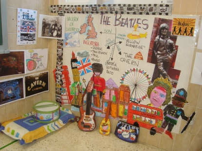 "Rincón ""The Beatles"". The Beatles Corner."
