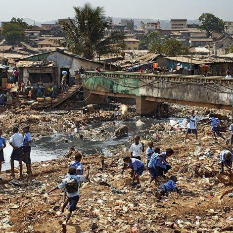 Recess in Sierra Leone.
