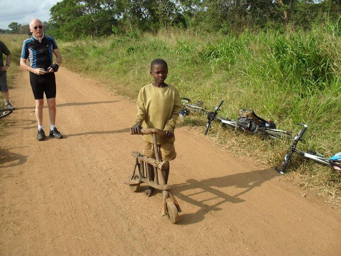 Tanzania y las bicicletas de madera