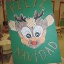 Felicitación Reno Rudolf