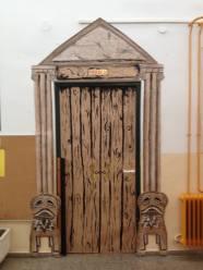 La puerta de clase..o del Museo