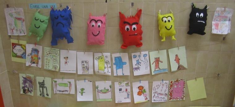 Proyecto el monstruo de colores el alma de mi aula for Caja de colores jardin infantil