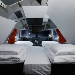 The Cockpit Suite at the Jumbo Stay Hotel — Stocolmo