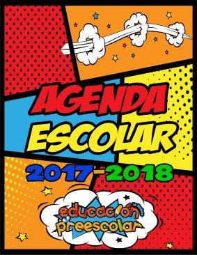 portada agenda escolar