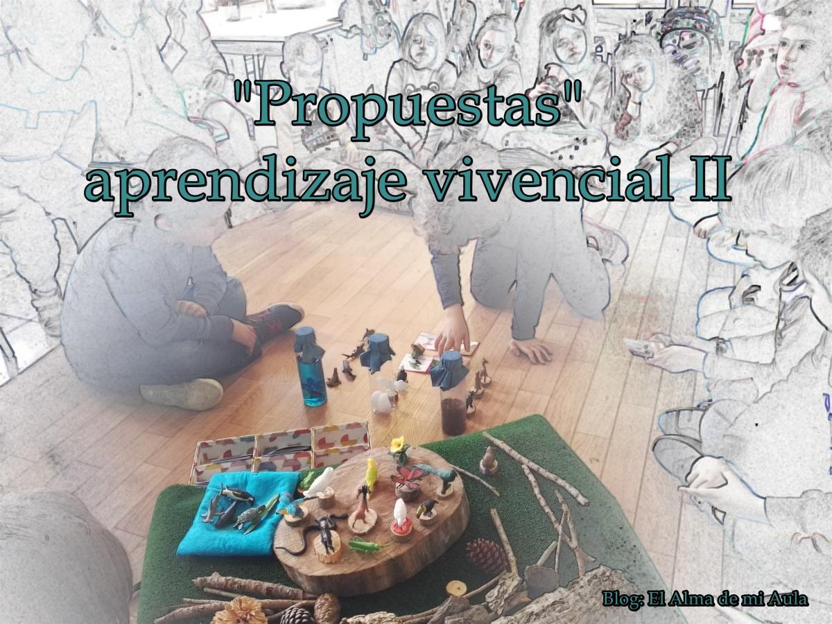"""""""Propuestas""""... aprendizaje vivencial II"""