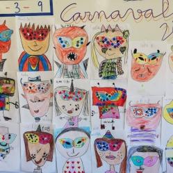 """Febrero, febrero Carnavalero… así celebrábamos la fiesta de los disfraces con máscaras mágicas de colores atractivos.... """"Carnaval"""" FEBRERO 2019"""