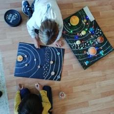 Propuesta 2: Dibuja el Sistema Solar