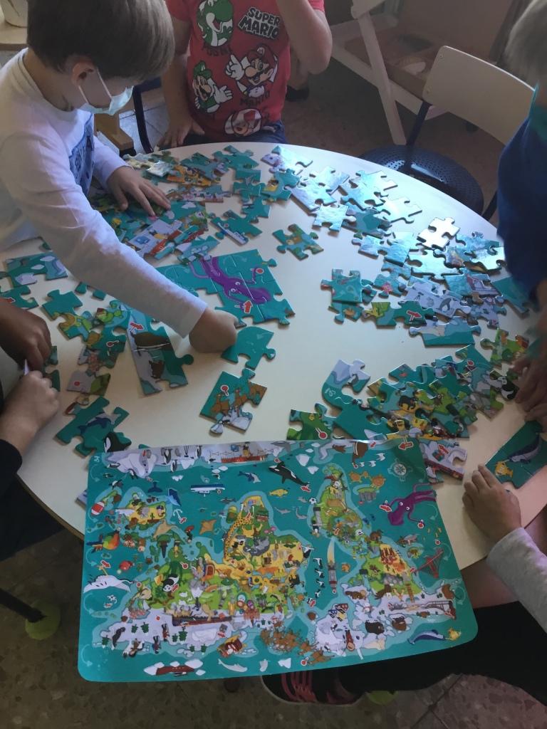 Resolvimos puzles